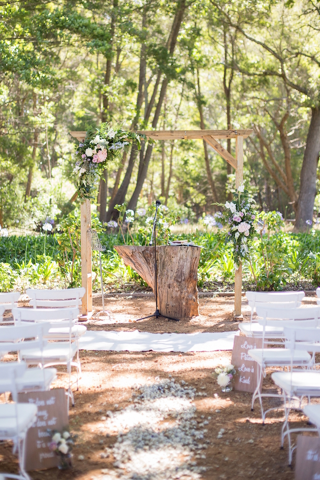 Forest Wedding at Beloftebos Stanford