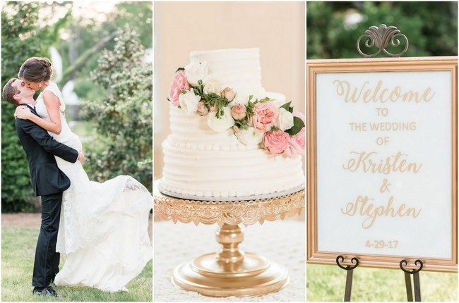 Elegant White and Gold Wedding {Audrey Rose Photography}