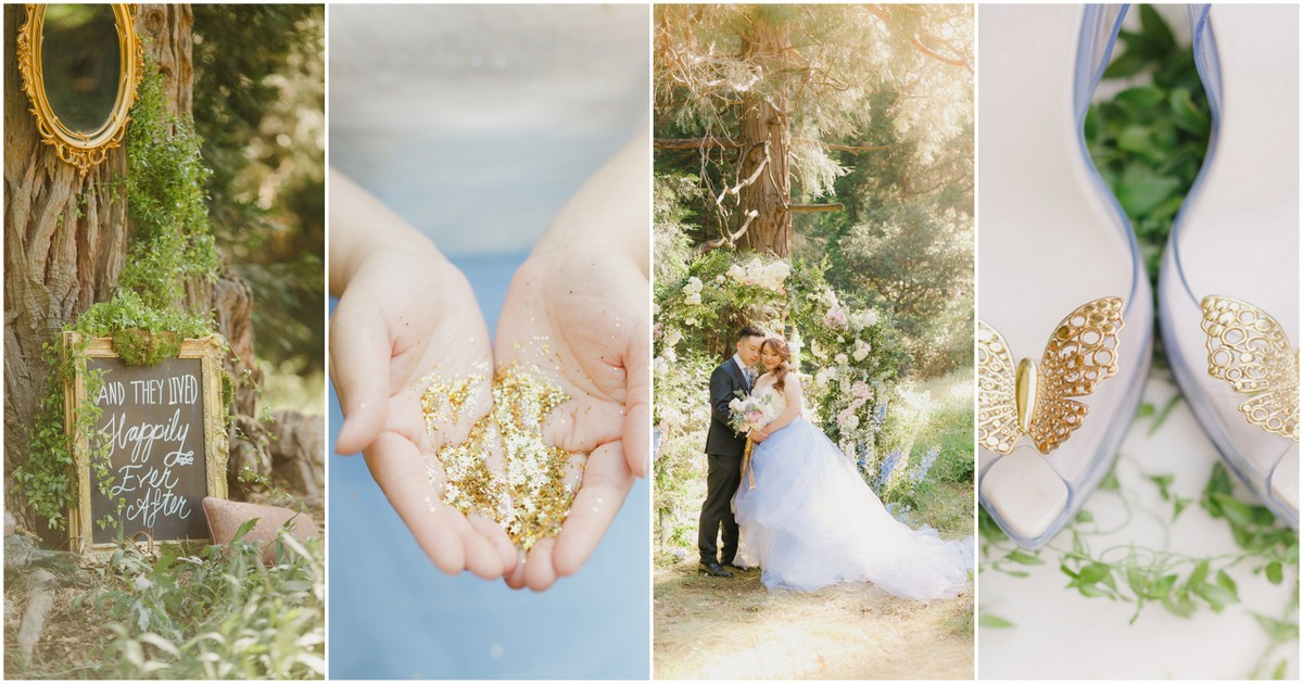 Real Life Fairytale Cinderella Wedding In The Valley Of