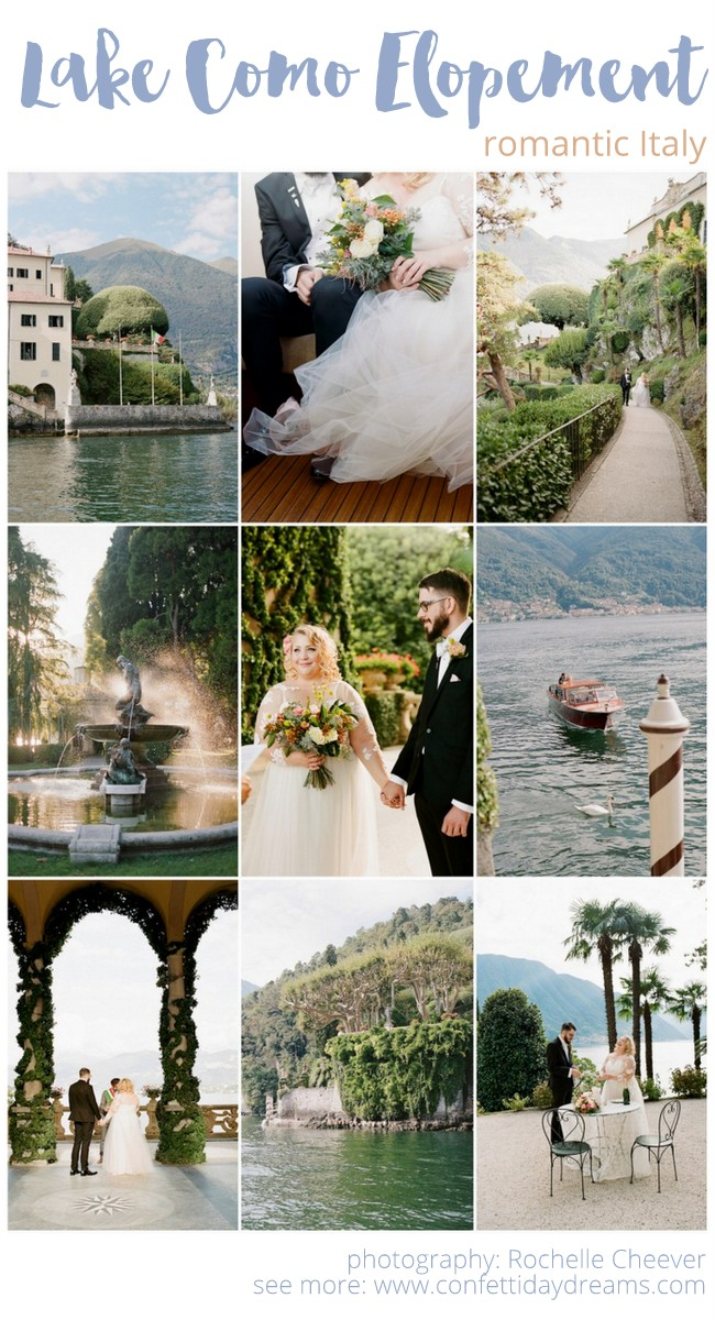 How to Elope to Lake Como Italy
