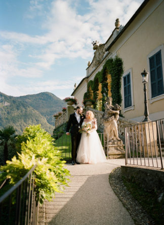 Italy Elopement - Lake Como