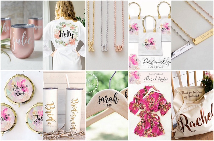 20 Bridesmaids Gifts Bridesmaid Jewelry Custom Bags Gifts Under 10