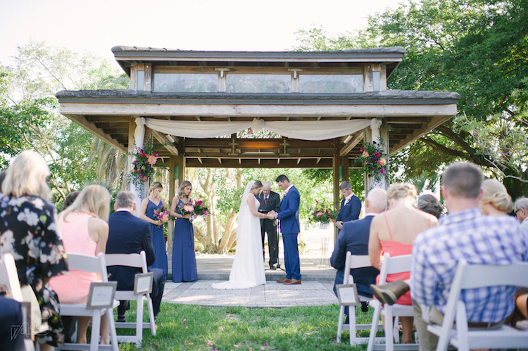 Florida Botanical Gardens Wedding