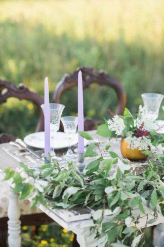 Purple Gold Wedding Colors