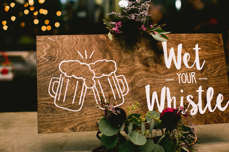 Brewery Wedding