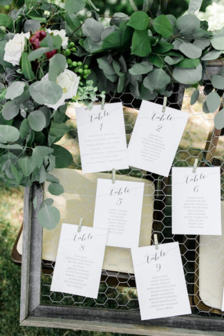 Rustic Eucalyptus Wedding Ideas