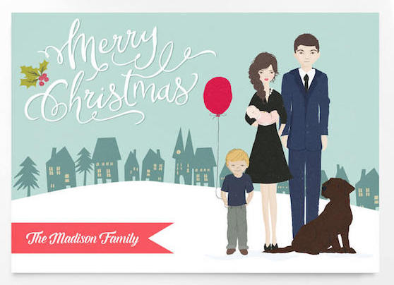 Portrait Christmas Cards