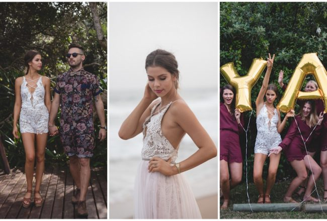 Relaxed Vibes, Intimate Durban Beach Cottage Wedding {Tuhi Photography}