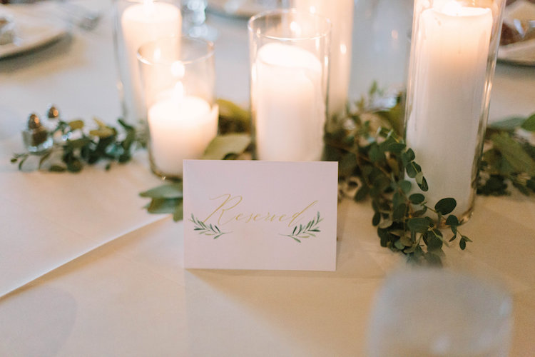 Elegant rustic wedding