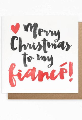 Fiance Christmas Cards