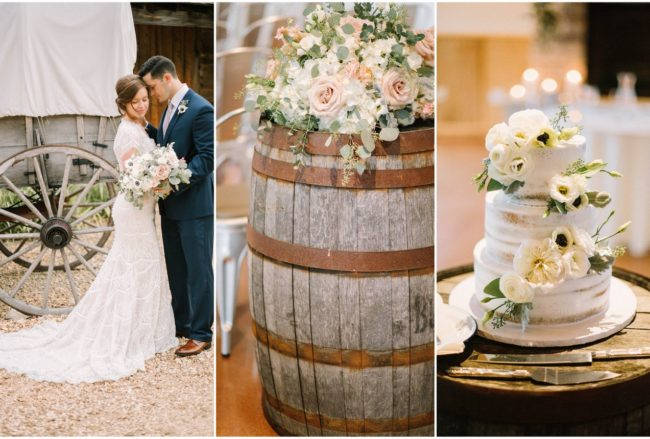 Ridiculously Stunning Summer Rustic Elegance Wedding {Veronica Young Photography}