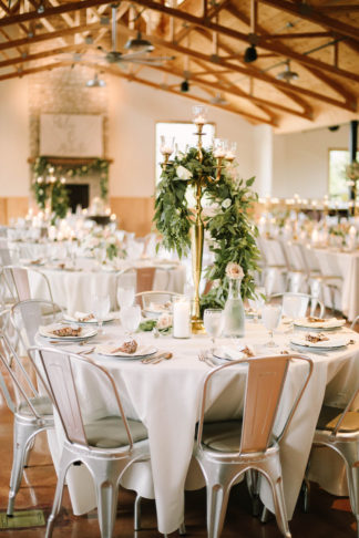 Rustic elegance wedding decor