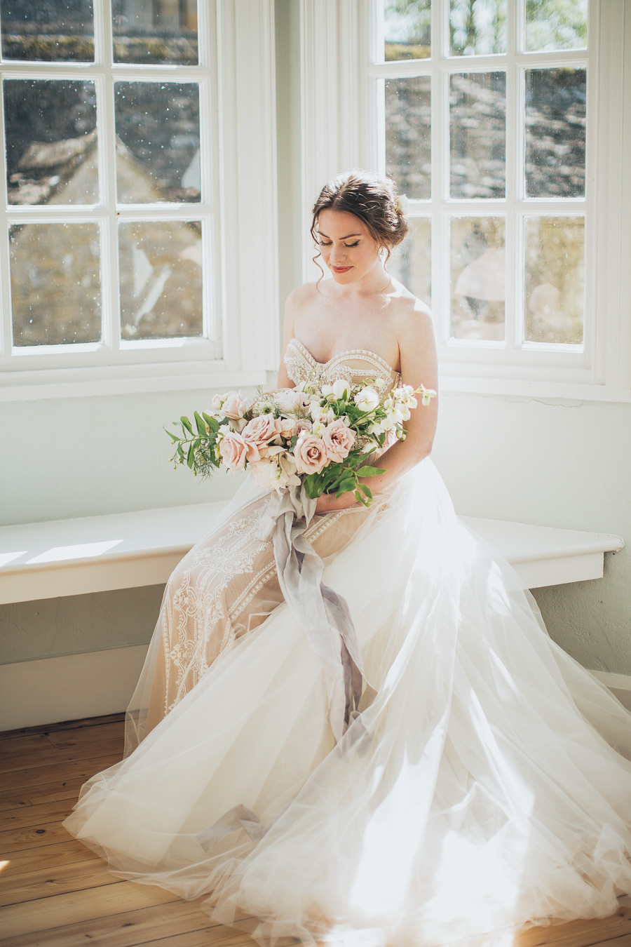 Intimate wedding for two Cornwell English Countryside