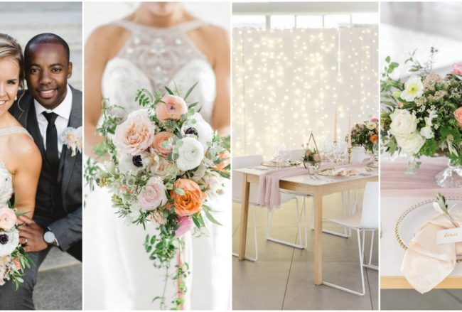 Gorgeous Coral Peach and Mint Spring Wedding {Catherine Mac Photography}