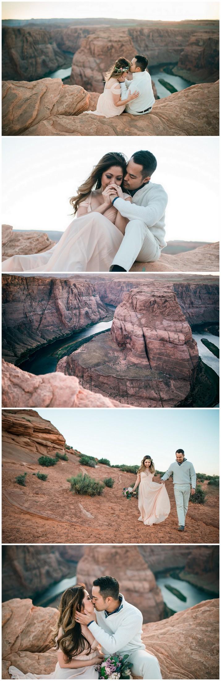 Horseshoe Bend Arizona Couple Photography Tips