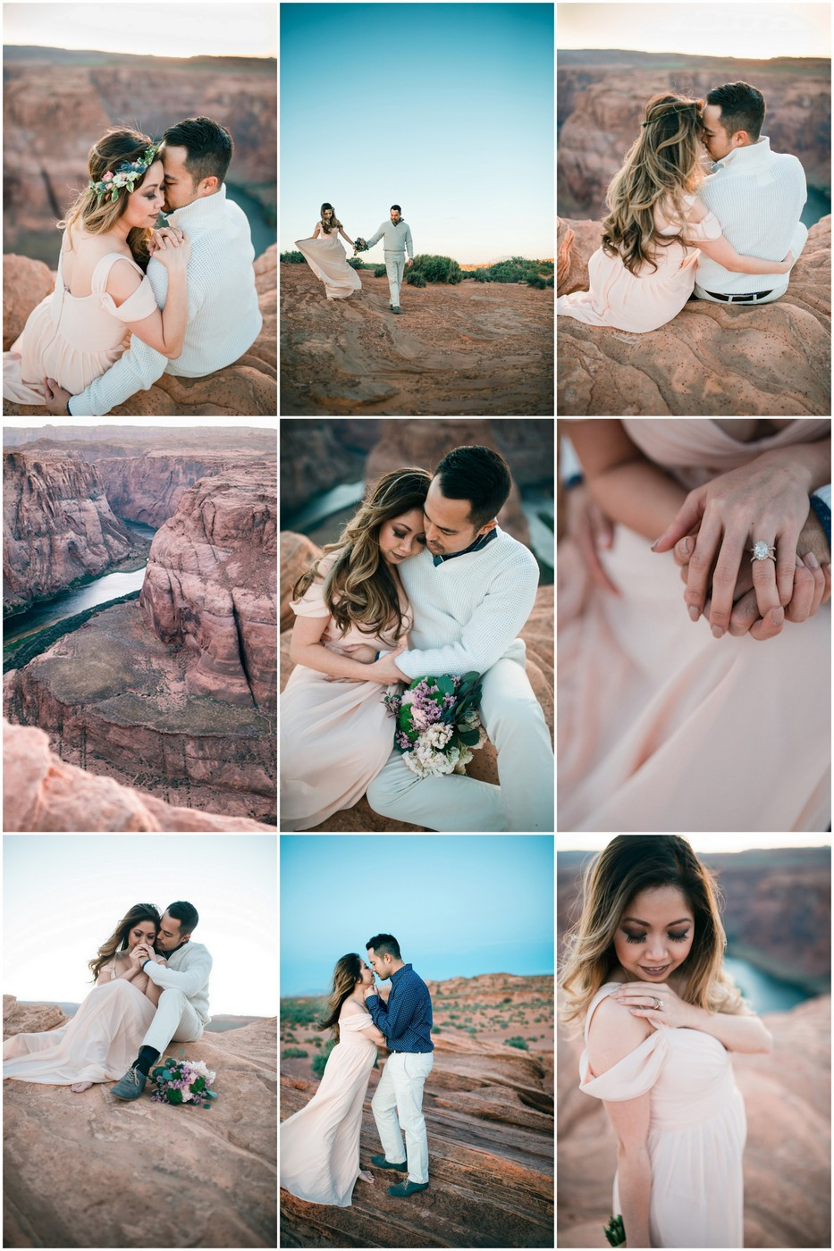 Epic Horseshoe Bend Anniversary Photographs in Grand Canyon