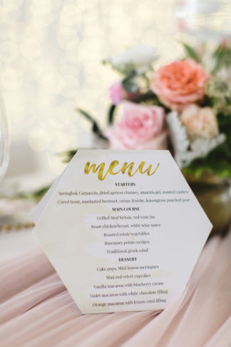 Mint green and gold wedding