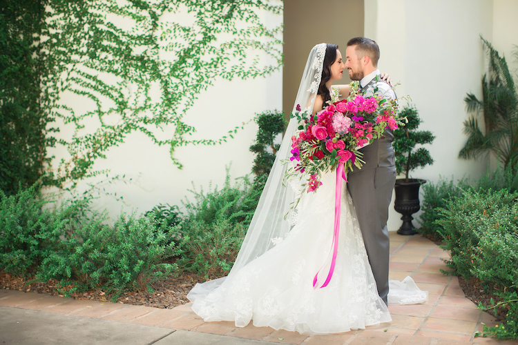 Bougainvillea Spanish wedding ideas