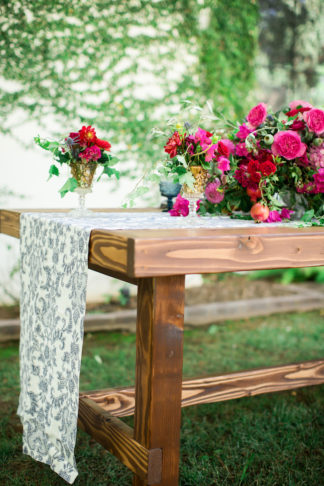 Bougainvillea and Spanish Tile wedding ideas