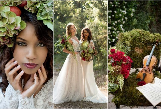 Magically Rustic: Woodlands Forest Wedding Ideas {Samantha Clifton Photography}