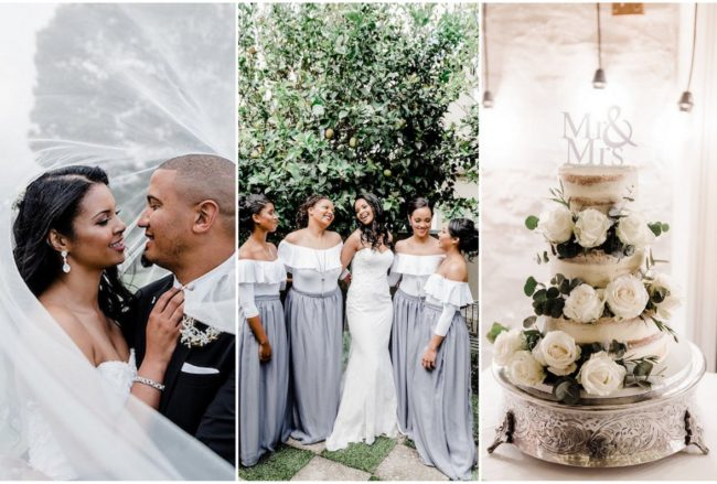 Gorgeously Neutral Garden Route Wedding in George, South Africa {Liezel Volschenk Photography}