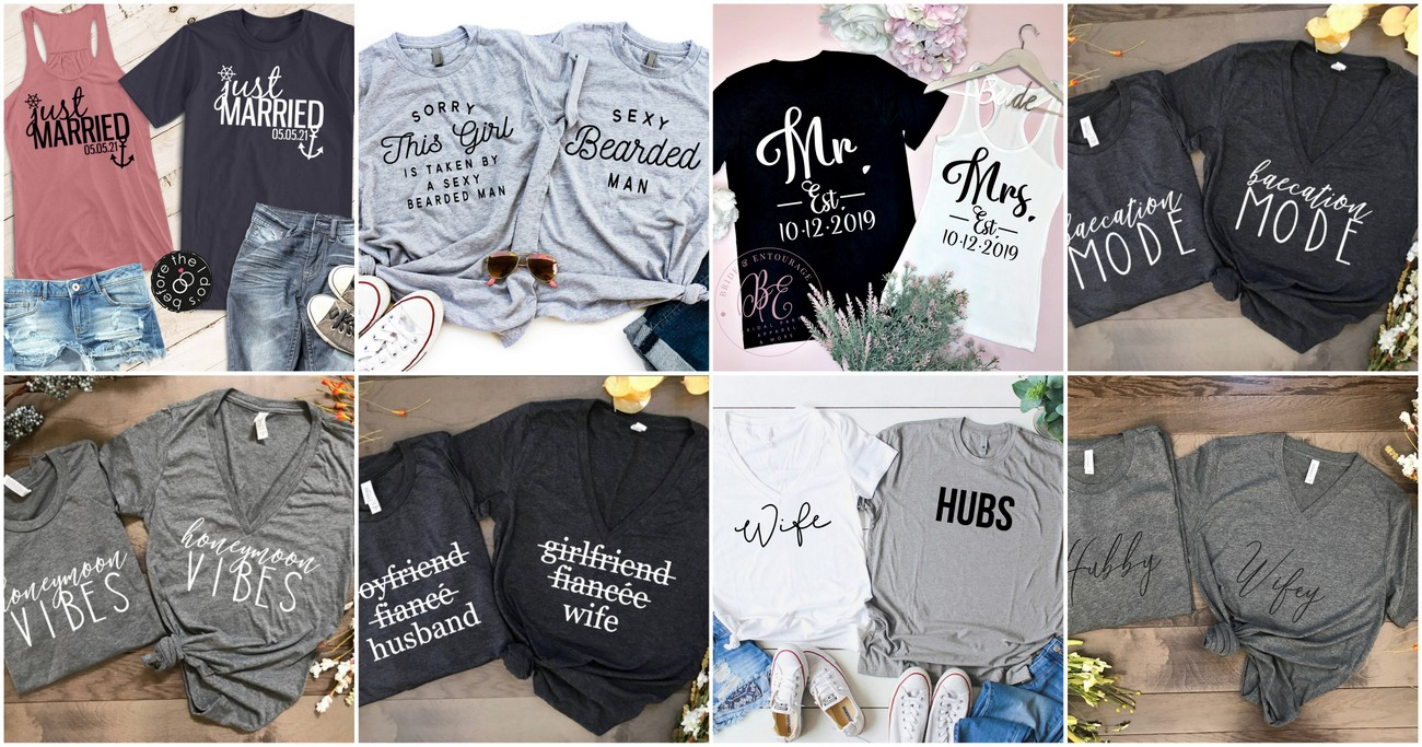 5fb87196 18 Totally LIT Newly-Wed Honeymoon Shirts for Epic Honeymoon Vibes!