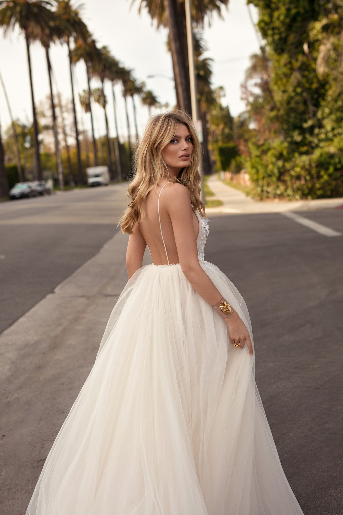 Sheer Perfection: BERTA's 2019 'City of Angels' Wedding
