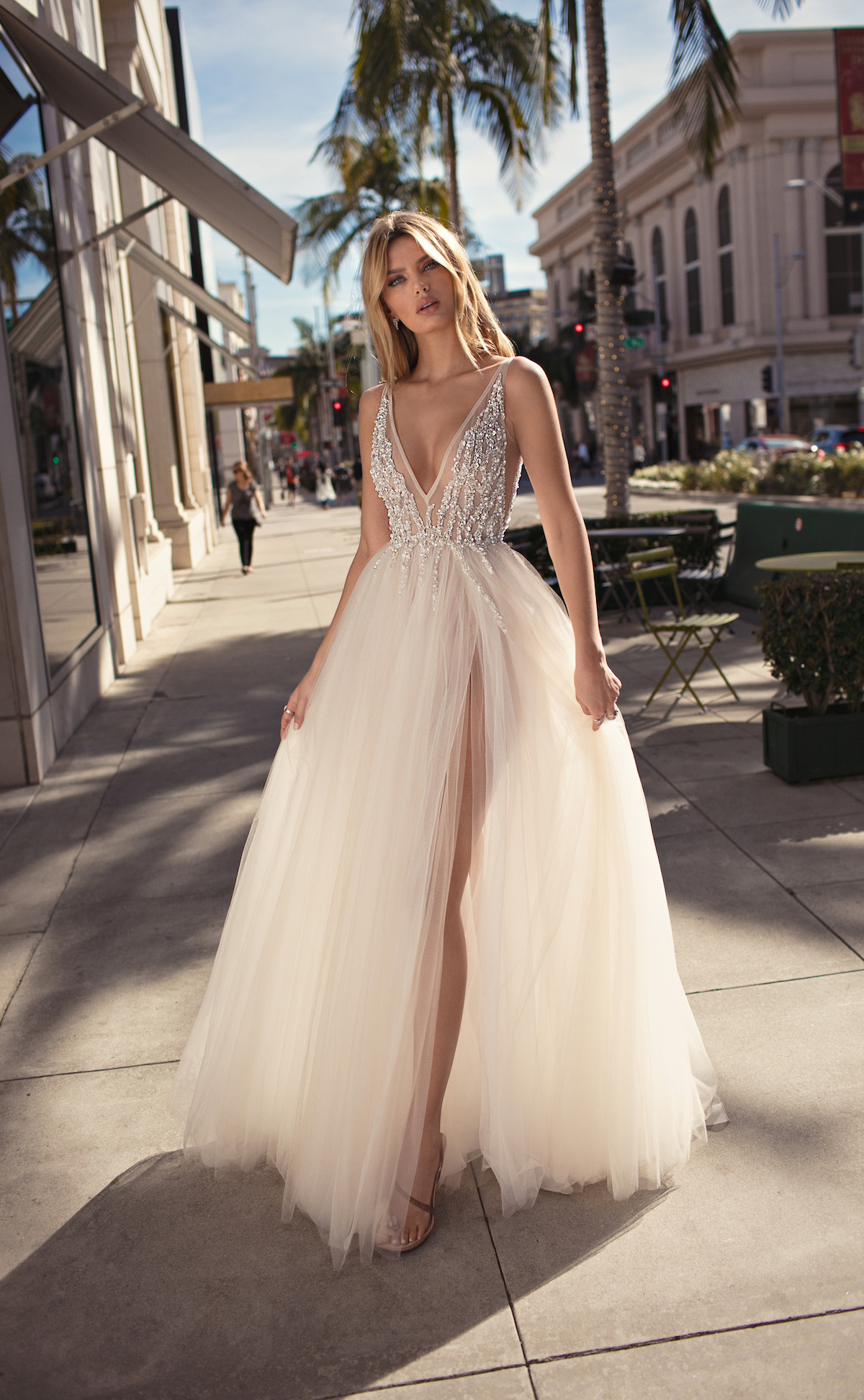 Sheer Perfection: BERTA's 2019 'City of Angels' Wedding Dress Collection