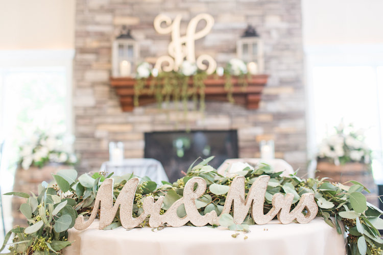 Pretty Greenery and Succulent Wedding