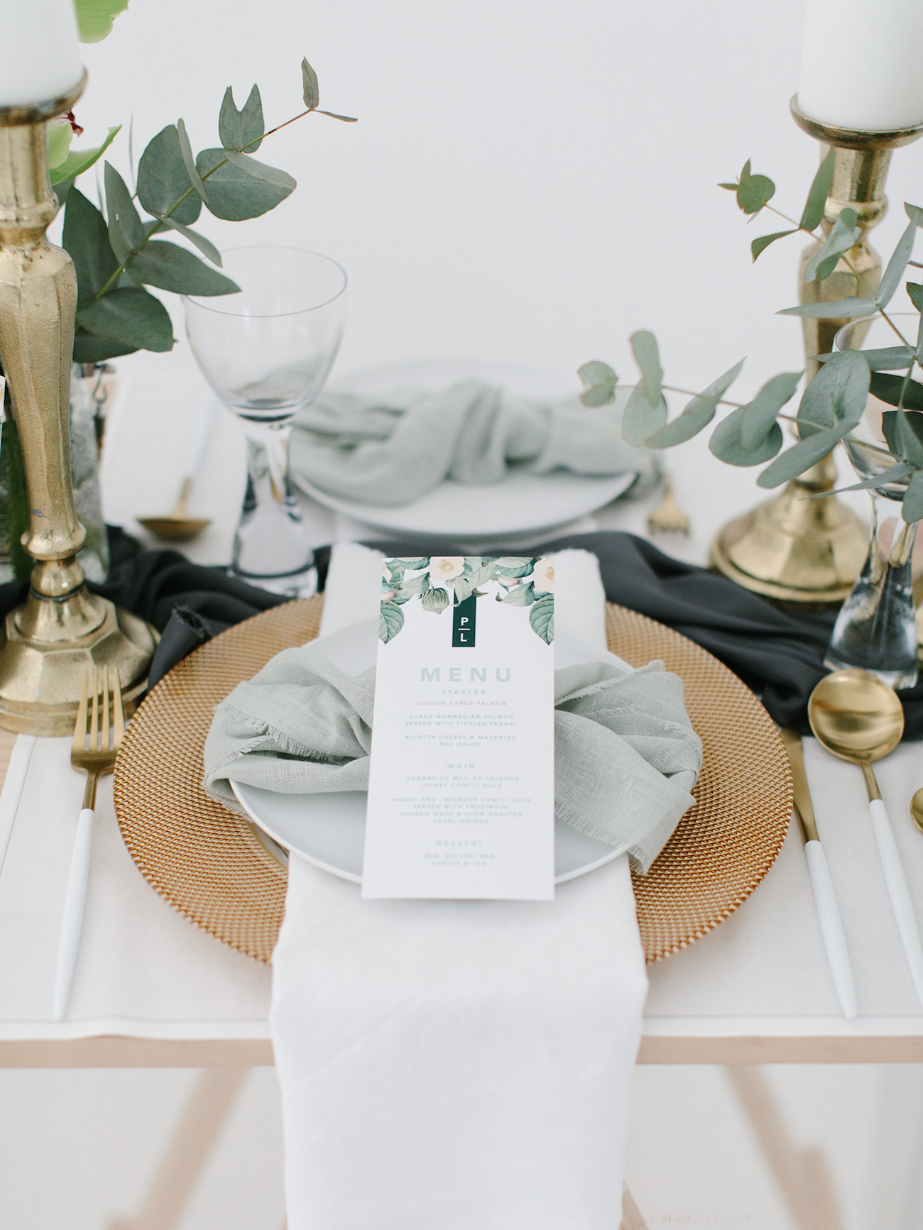 Olive green and ivory wedding theme