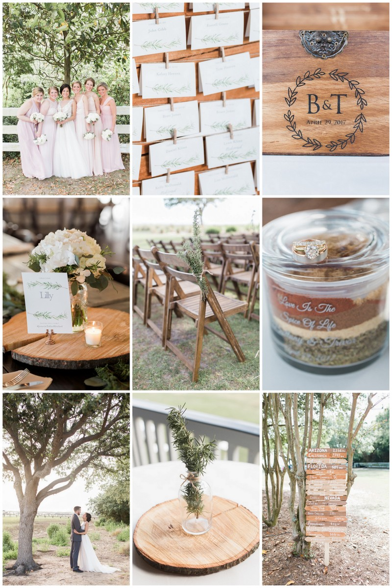 Rosemary Herb Wedding Ideas