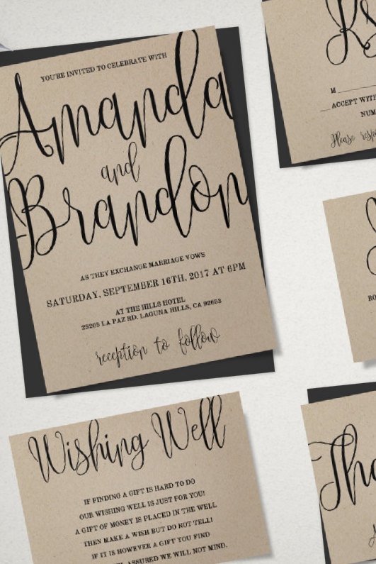 Wedding Money Saving Tips Printable Wedding Invites For Diy Printing