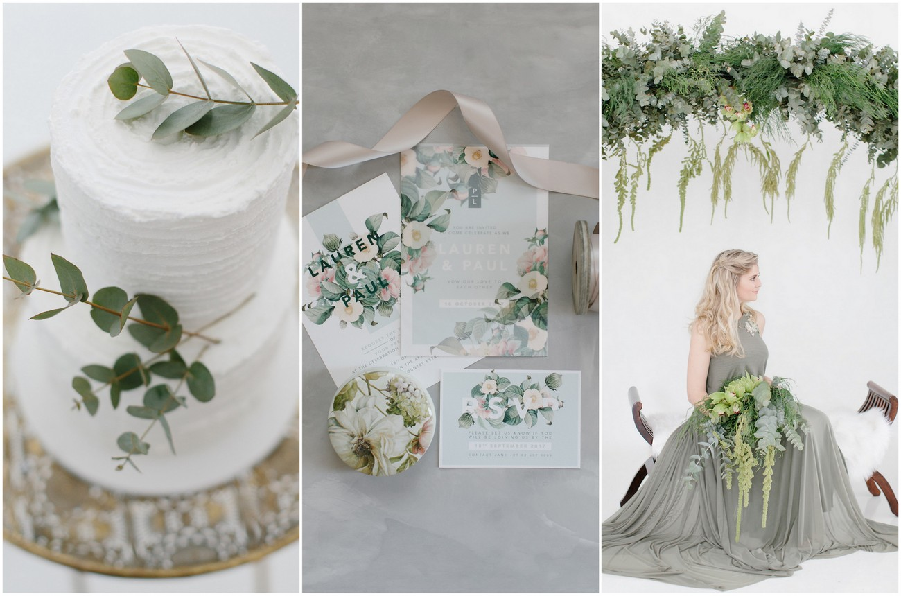 Understated Elegance: Get Olive Green and Ivory Wedding Theme Ideas