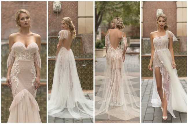 Sophisticated + Sensual Wedding Dresses by Naama & Anat Haute Couture