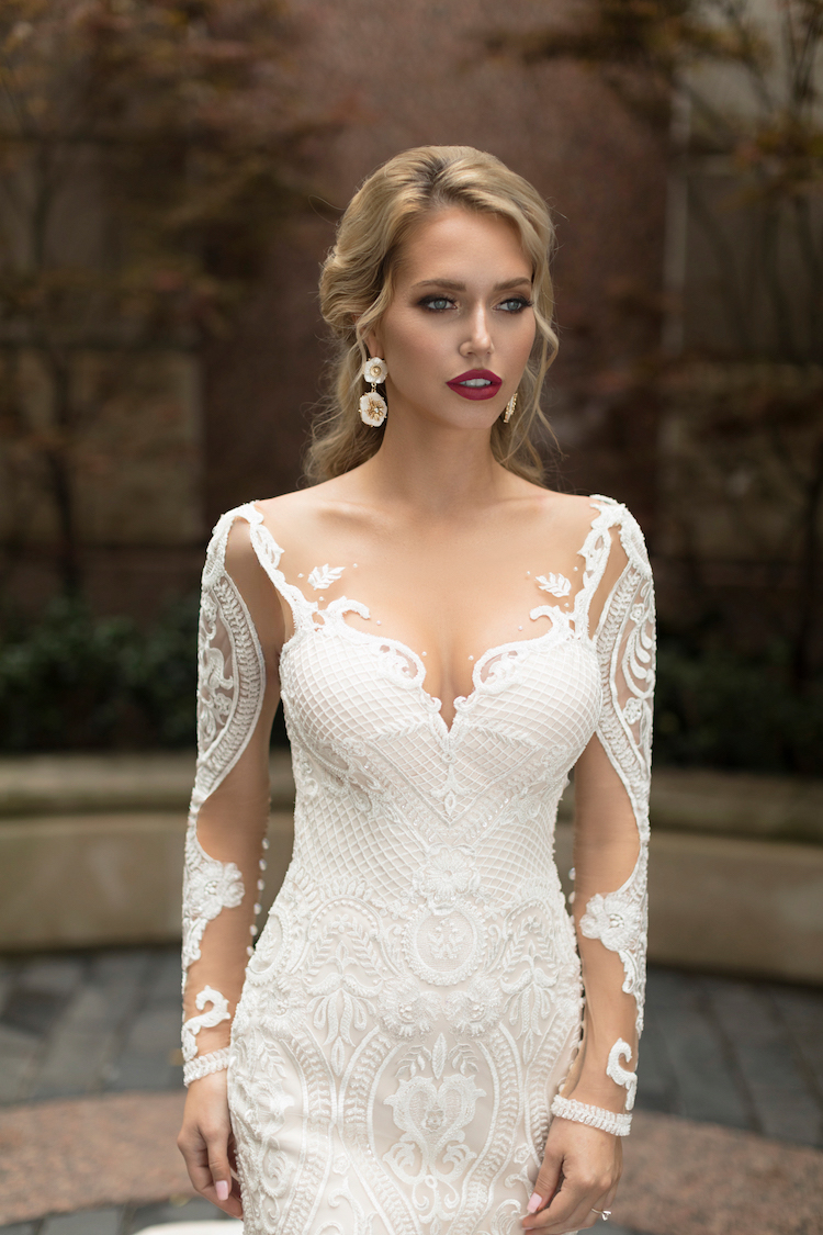 Sensual wedding dresses