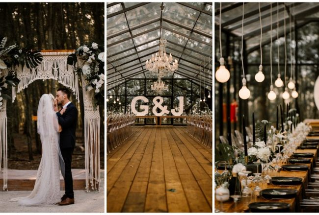 Jaw-Dropping Boho Style Wedding at Die Woud