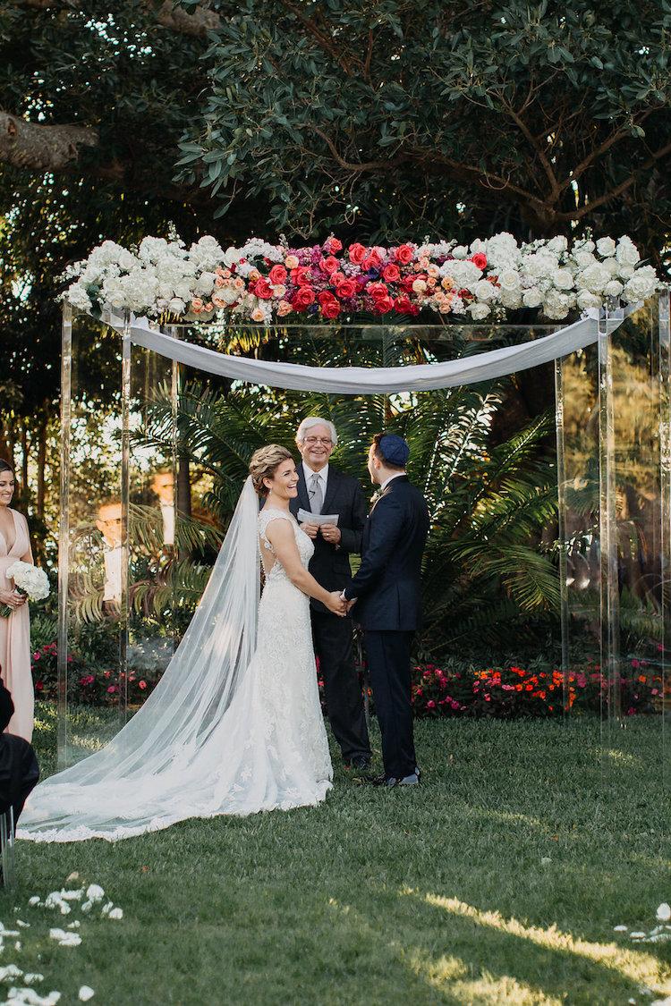 Modern Acrylic Botanical Garden Wedding