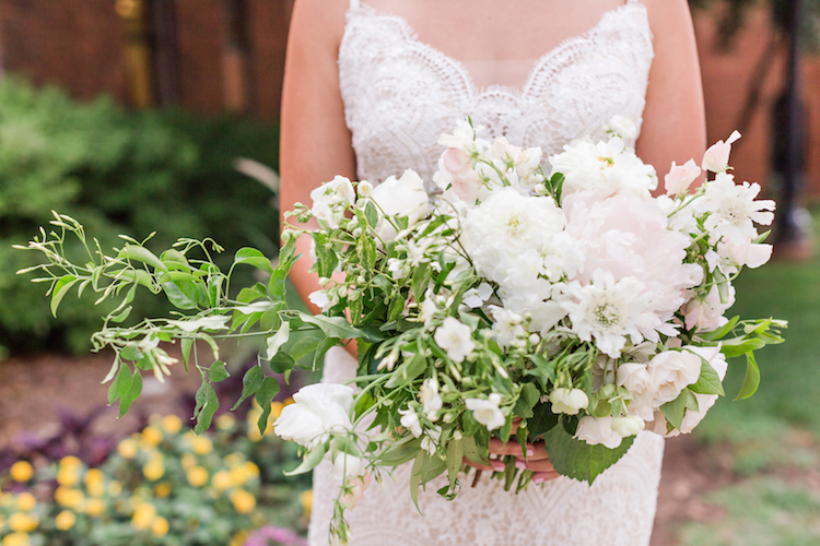 Peony and Succulent Wedding