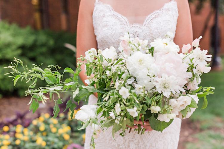 Peony and Succulent Wedding