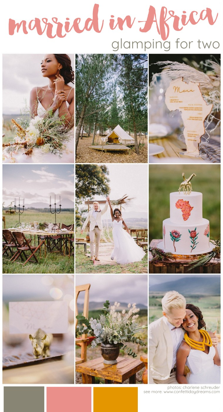 African Glamping Wedding