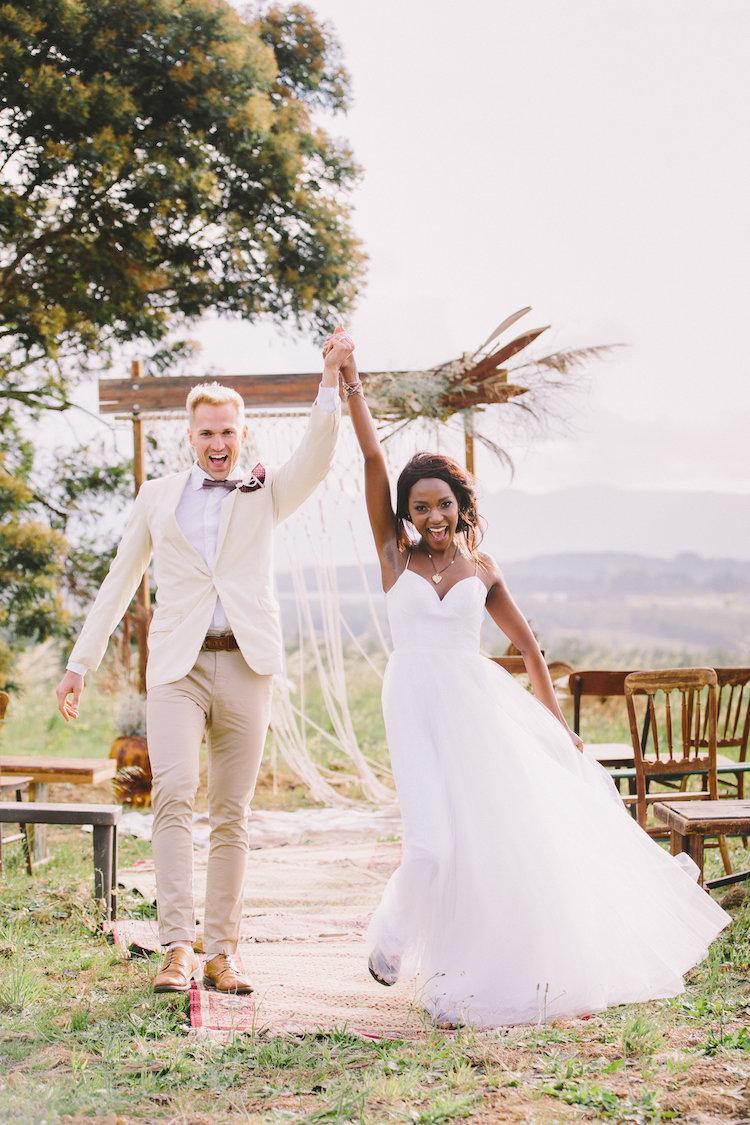 African Glamping Wedding
