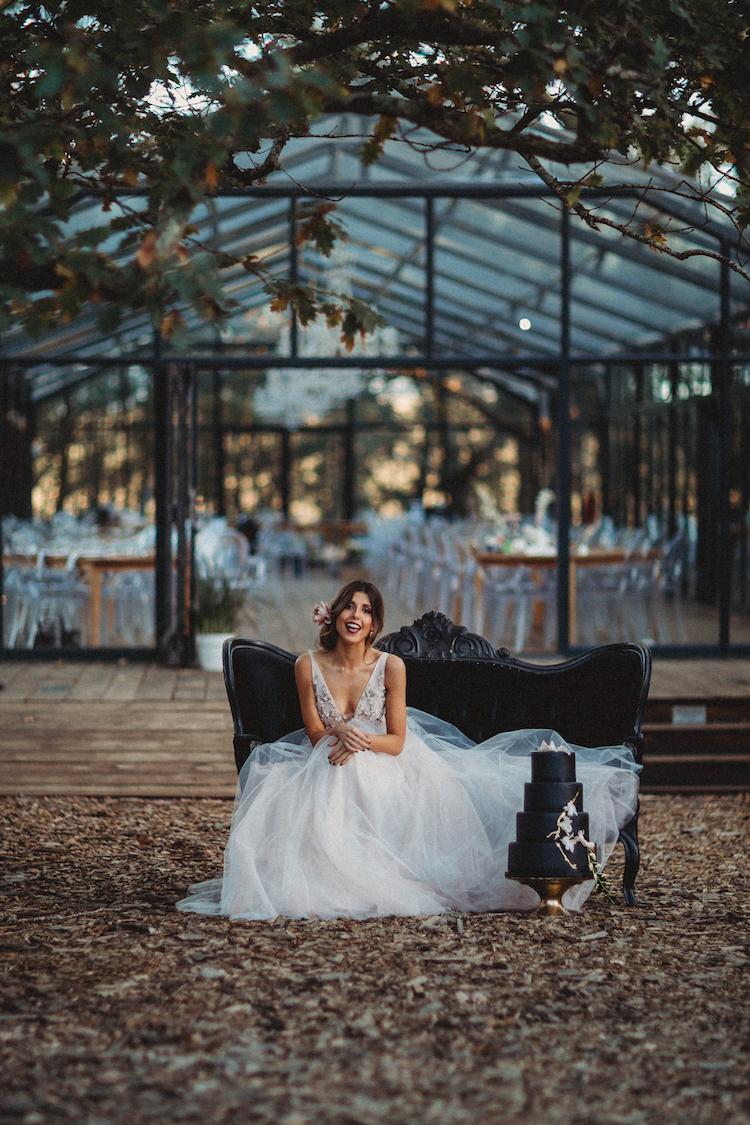 Black, Blush and Nude Wedding Ideas