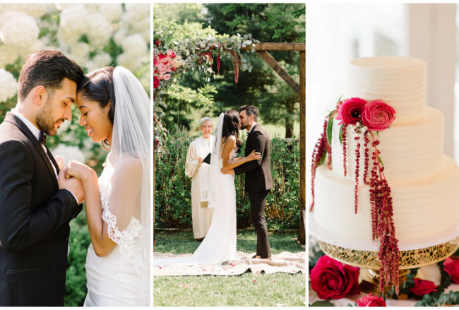 Intimate Italy-Themed Garden Wedding in Virginia with Boho Vibes