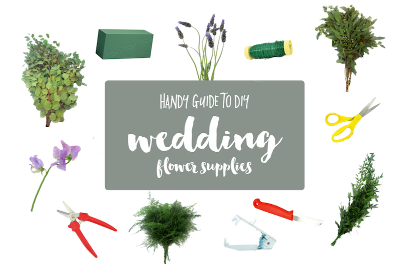 Guide to DIY wedding flower tools and supplies