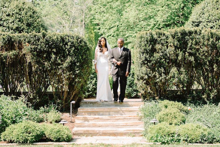Italy Themed Garden Wedding in Virginia