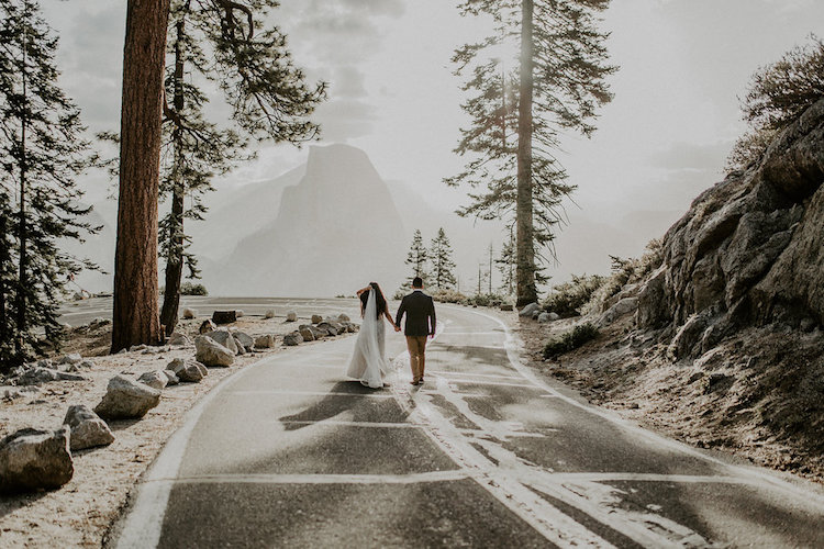 Yosemite Sunrise Elopement