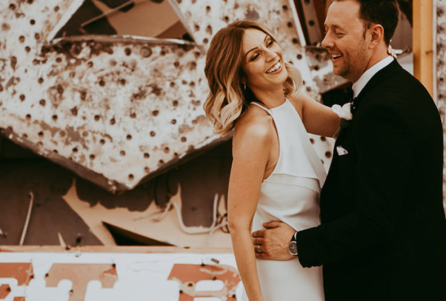 A Minimalist Elopement In Vegas: Tips + Advice