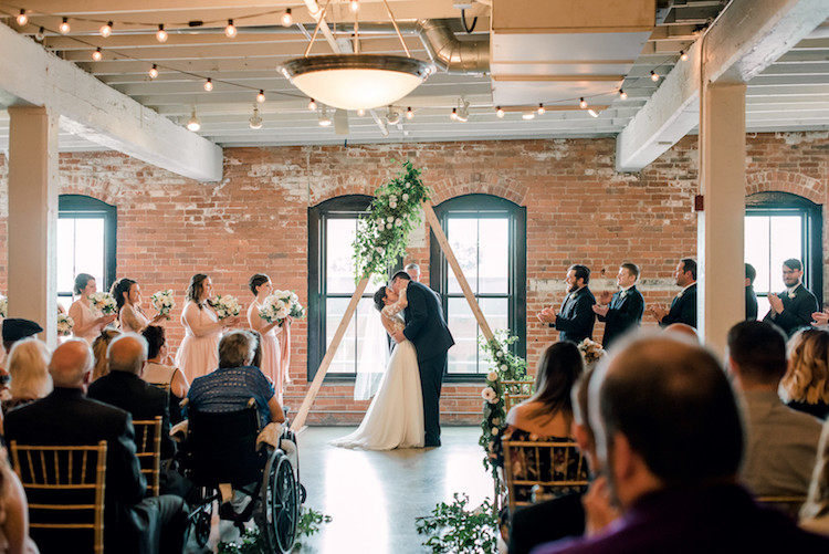 Romantic Mid Century Modern Cleveland Wedding Inspiration