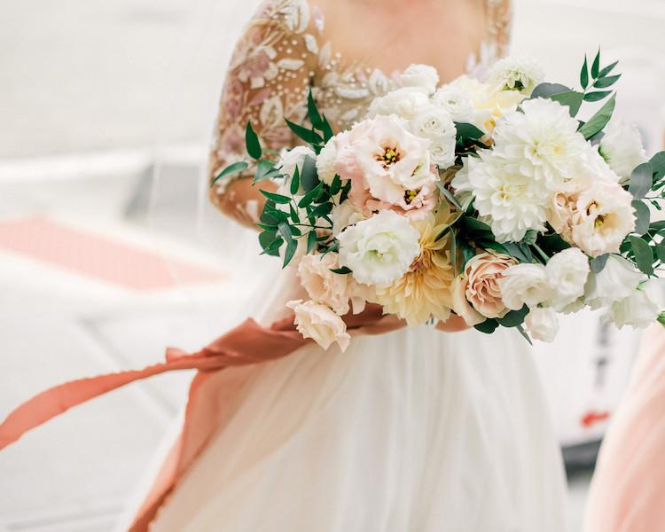 Romantic Mid Century Modern Cleveland Wedding Inspiration