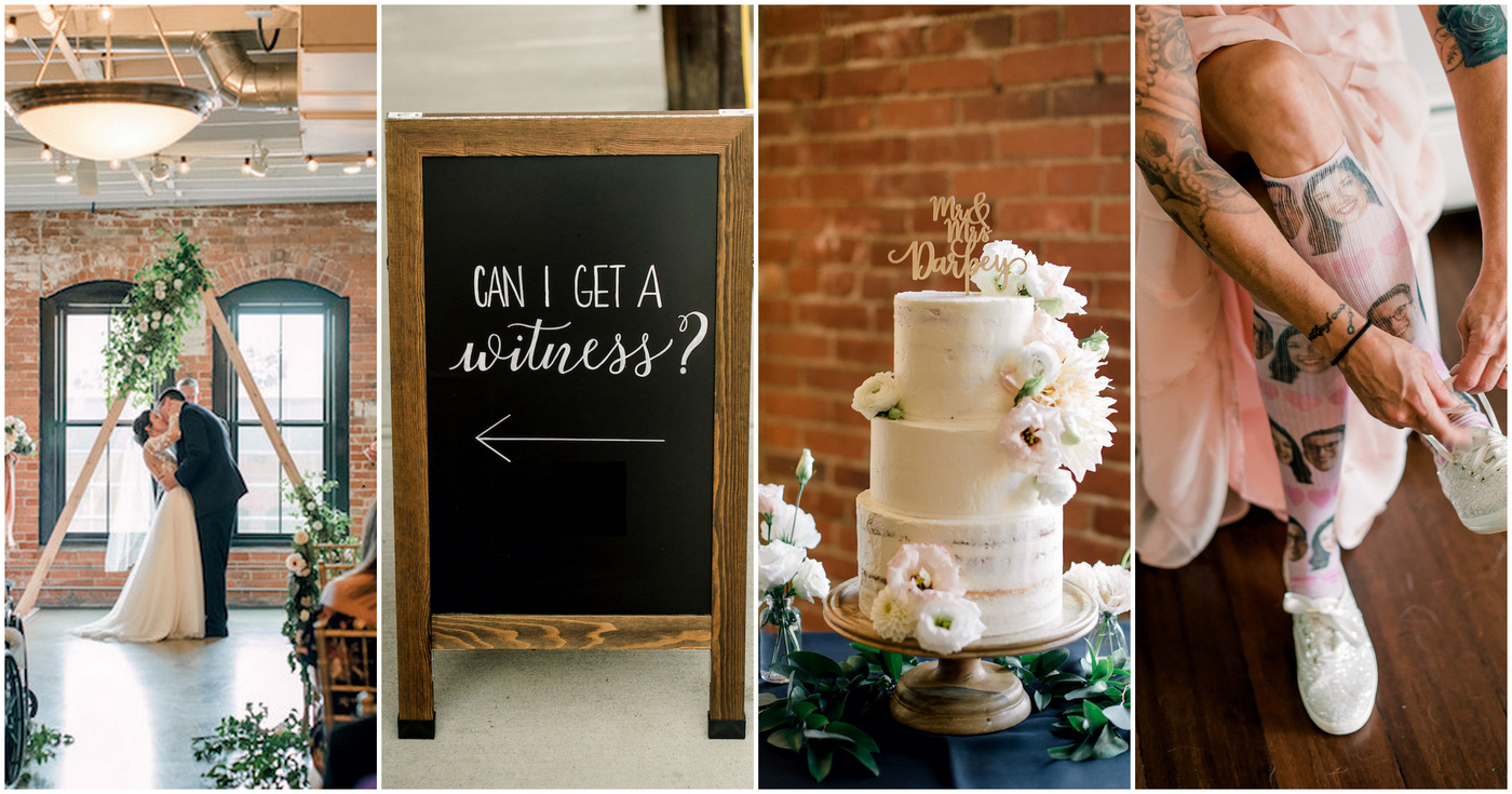 Romantic Mid Century Modern Wedding With Industrial Touches